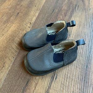 See Kai Run Size 4 Toddler Slip On Leather